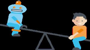 Balance of Man and Robot